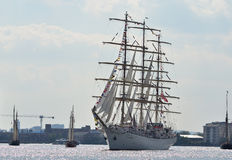 Festival alto dos navios de Londres Fotos de Stock