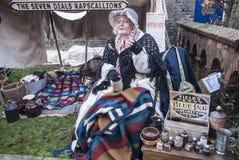 Festival annuale di Natale di Dickensian, Rochester Regno Unito Fotografia Stock