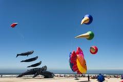 Festival annuale di volo dell'aquilone fotografia stock