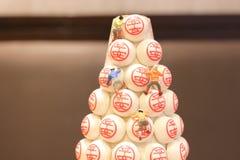 festival annuel de petit pain Cheung Chau, Hong Kong image stock