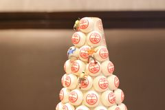 festival annuel de petit pain Cheung Chau, Hong Kong photo stock