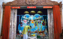Festival annuel Raathyatra, Ahmedabad, Inde de char Images stock