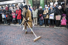 Festival anual do Natal de Dickensian, Rochester Reino Unido Foto de Stock