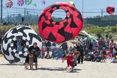 Festival anual do voo do papagaio fotos de stock royalty free