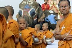 FESTIVAL ASIENS THAILAND AYUTTHAYA SONGKRAN Lizenzfreies Stockfoto