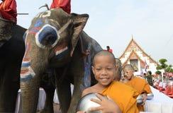 FESTIVAL ASIENS THAILAND AYUTTHAYA SONGKRAN Stockfotografie