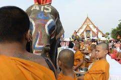FESTIVAL ASIENS THAILAND AYUTTHAYA SONGKRAN Lizenzfreie Stockfotografie