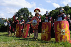Festival Astur-Romain CARABANZO Images stock