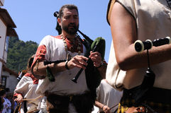 Festival Astur-Romain CARABANZO Image stock