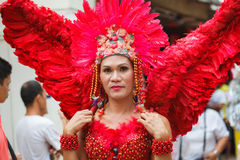 Festival ATI-Atihan on Boracay, Philippines. Is celebrated every
