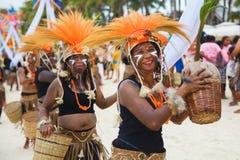 Festival ATI-Atihan on Boracay, Philippines. Is celebrated every Stock Photo