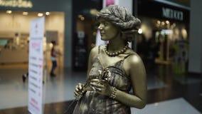 Festival av bosatta statyer, bosatt staty arkivfilmer