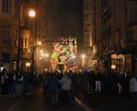 Festival av brand i Valencia Royaltyfria Bilder