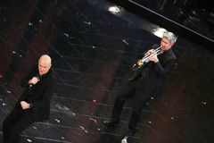 Festival av den italienska songen, Sanremo 2013 Royaltyfri Fotografi