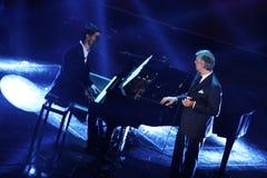 Festival av den italienska songen, Sanremo 2013 Royaltyfri Foto