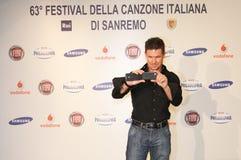 Festival av den italienska songen, Sanremo 2013 Royaltyfria Bilder