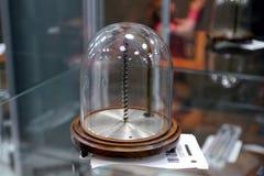 Festival av det ryska geografiska samhället termometer Royaltyfri Bild