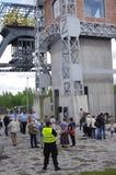Festival av gammal teknologi`-Industriada ` i Silesia, Polen Arkivbild