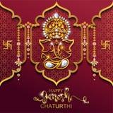 Festival av Ganesh Chaturthi Royaltyfri Bild