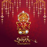 Festival av Ganesh Chaturthi Royaltyfria Bilder