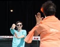 Festival av Indien att dansa Royaltyfri Bild