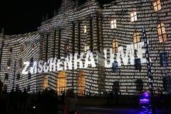 Festival av ljus Berlin Arkivfoto