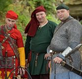 Festival av medeltida rekonstruktion Royaltyfri Foto