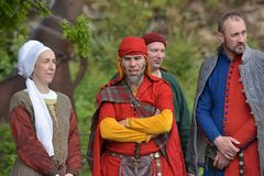 Festival av medeltida rekonstruktion Royaltyfri Fotografi