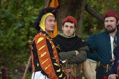 Festival av medeltida rekonstruktion Arkivbilder
