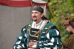 Festival av medeltida rekonstruktion Royaltyfria Bilder