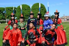 Festival av nationella kulturer royaltyfria bilder