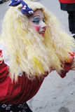 Festival av santa som är clous i montreal arkivfoton