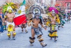 Festival av Valle del Maiz Fotografering för Bildbyråer