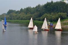Festival av vattensportar. Tyumen Royaltyfri Bild
