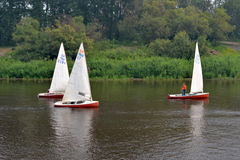 Festival av vattensportar. Tyumen Arkivbild