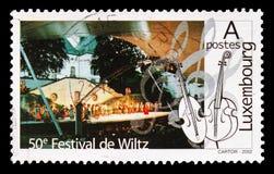 Festival av Wiltz, festivalserie, circa 2002 arkivbilder