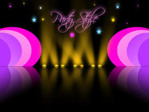 Festival background. Bright festival background party illustration Stock Image