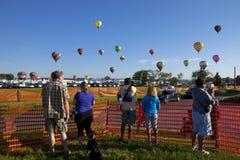 Festival Ballooning de New-jersey em Whitehouse Station Imagem de Stock
