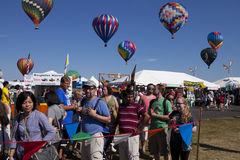 Festival Ballooning del New Jersey Immagini Stock