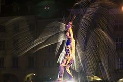 Festival Berna dei Buskers Fotografia Stock
