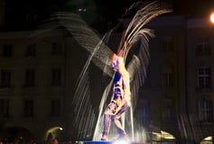 Festival Berna dos Buskers Fotos de Stock Royalty Free