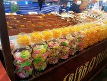 Festival bij Thung-Lied - Nakhon Sri Thammarat stock afbeelding