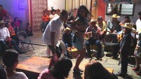 Festival Blackbird Dance stock footage