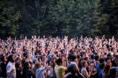 Festival bon 2015 d'été image libre de droits