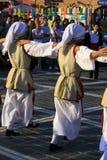 Festival Brasov Romania di ballo di folclore fotografia stock libera da diritti