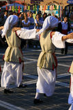 Festival Brasov Roumanie de danse de folklore Photo libre de droits