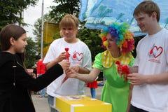 Festival Bubbles Royalty Free Stock Photo