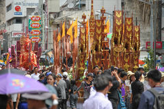 Festival budista Fotografia de Stock Royalty Free