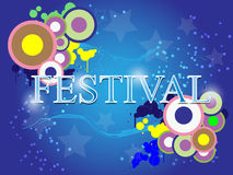Festival celebration abstract background. EPS 10 Vector Royalty Free Illustration