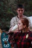Festival celta 2017 de Motta - reenactment histórico Fotografia de Stock Royalty Free